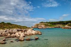 Playa de Palombina 3, Celorio (ccc.39) Tags: asturias llanes celorio palombina cantbrico agua rocas