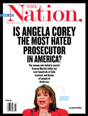 Is Angela Corey the Most Hated Prosecutor in America? The Nation. September 12-19, 2016 (rbest90) Tags: thenation magazine editorial design politics judge travonmartin deathrow
