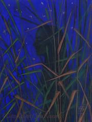 """The Night"" by ClipsoCallipso / Julia Khoroshikh (clipso_callipso) Tags: bizarre beautifulbizarre art fantasy surreal surrealism visionary divinefeminine artwork death goddess mourning kali artsanity artweinspire mystical pagan topcreator artgallery artspotlight magicrealism magic magical mystic contemporary figurative arte contemporaneo beautiful dark divine feminine woman figure silhouette vision imagination imaginative"