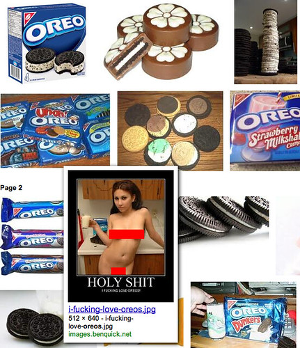 Oreo Cookie Porn on Google
