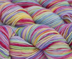 Eden on Beloved Superwash  worsted merino - 4 oz.  (...a time to dye)