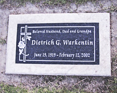 WARKENTIN Dietrich 1919 2002 beloved husband dad and grandpa (Dancing with Ghosts) Tags: california ca monument cemetery grave graveyard urn death memorial san mourning riverside headstone tomb birth graves funeral valley genealogy granite record burial marker hemet marble coffin labeled plot crematorium obituary necropolis funerary jacinto sites morgue monumental sanjacinto undertaker corpses mortuary crypts mausoleums stonemason excavations interment san county cemetery burial ossuaries remains jacinto listst42free cclicenc3 sanjacintocemetery vault cremated