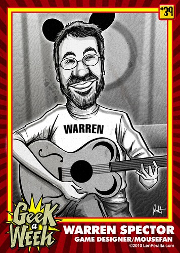 Geek A Week Challenge: #39: Warren Spector