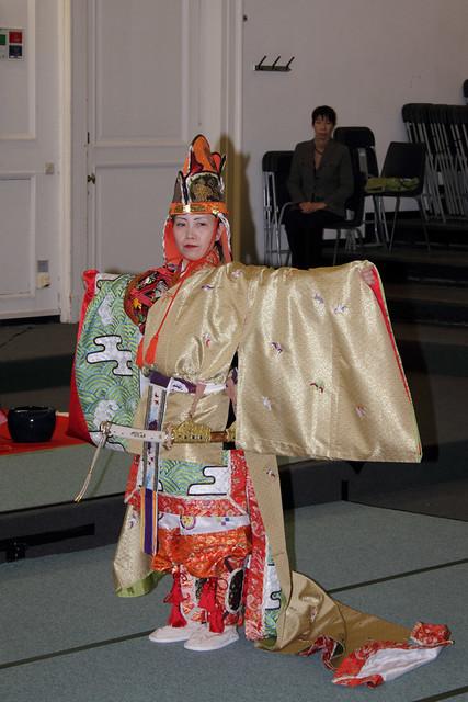 Kitanodai Gagaku Kai concert in Leuven