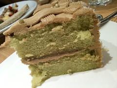 the gula melaka pandan cake