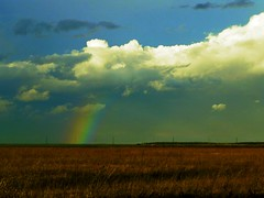 autumn rainbow (Harlory) Tags: autumn color clouds landscape rainbow slatina