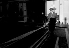 A Walk in the Sun (Ian Brumpton) Tags: street uk england urban blackandwhite bw blancoynegro monochrome blackwhite candid citylife streetphotography londres biancoenero dapper walkingwithpurpose sidewalkstories awalkinthesun londonstreetphotography lifeinslowmotion scattidistrada neroameta ianbrumpton aimlessstrolling blackwhiteheartbeats londonatlarge averyenglishgentleman thebespokeovercoat