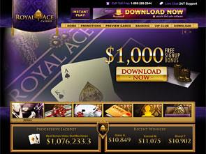 Royal Ace Casino Home