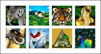 free Adventure Palace slot game symbols