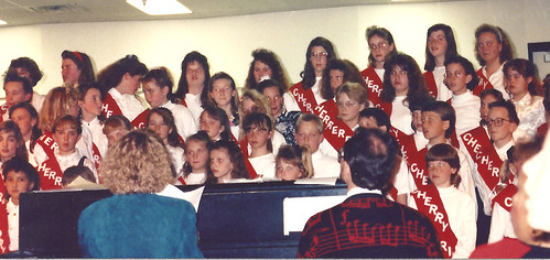 in the Cherry Drive Choir 1992
