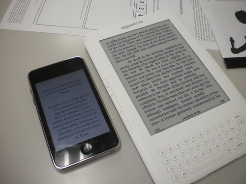 iPod Touch vs Kindle