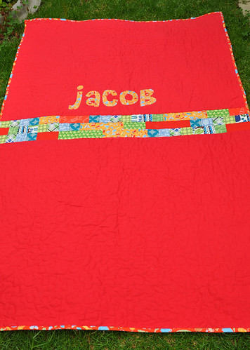Jacob's quilt - back