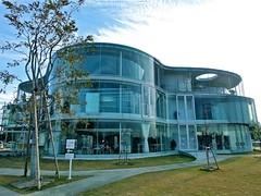 豊田市生涯学習センター 逢妻交流館, Aizuma Lifelong Learning Center, Toyota City, Japan (Ken Lee 2010) Tags: building japan aichi 妹島和世 kazuyosejima toyota