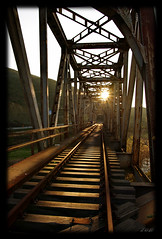 ..... (Zopidis Lefteris) Tags: railroad bridge sunset sun abandoned train bridges hellas rail railway trains ironbridge greece macedonia abandon railways abandonment allrightsreserved                    photographerzopidislefteris  allphotosarecopyrightedbyzopidislefteris  copyright