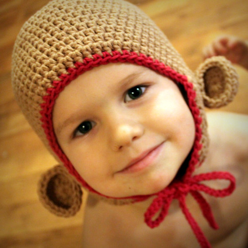 5236608512 03ea470cd8 Free Crochet Pattern   Monkey Hat