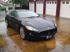Maserati (max_wedge) Tags: cameraphone cars rain ericsson sony luxury maserati numberplate 12mp satio
