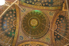 Dome Ceiling (thoth1618) Tags: citadel egypt mosque ceiling cairo dome photooftheday alabastermosque cairocitadel cairoegypt mosqueofmuhammadali saladincitadel mosqueofmuhammadalipasha saladincitadelofcairo mokattamhill