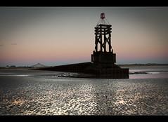 Looking back, Crosby beach (Ianmoran1970) Tags: beach wet reflections sand boots baths mersey muddyboots crobsy ianmoran ianmoran1970
