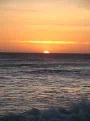 Fim do dia... (Raphael M.) Tags: sunset pordosol sea mar sonycybershot dsch50