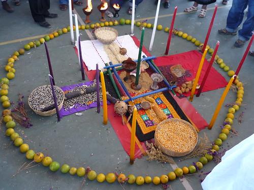 Offerings at La Via Campesina