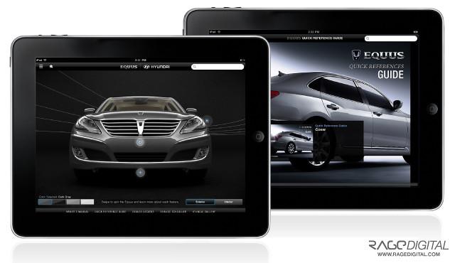 Hyundai iPad App (Rage Digital)