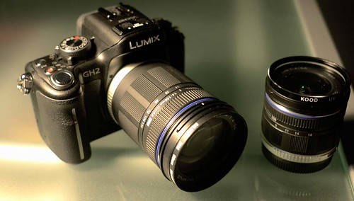 Panasonic GH2 Olympus 14-150mm and 9-18mm Zooms