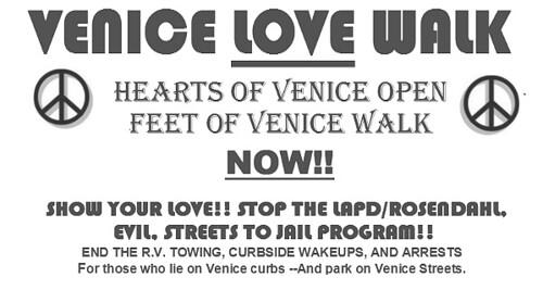 RV Dweller Love Walk