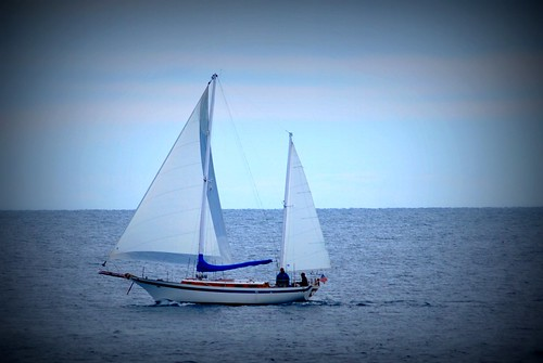A Cape Elizabeth Sailboat