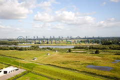 SMS.270407_MG_2765.A4.jpg (Luchtfotografie SiebeSwart.nl Aerial Photography) Tags: netherlands transport nl weer hsl landschappen hogesnelheidslijn infrastructuur ruimtelijkeordening verkeerenvervoer