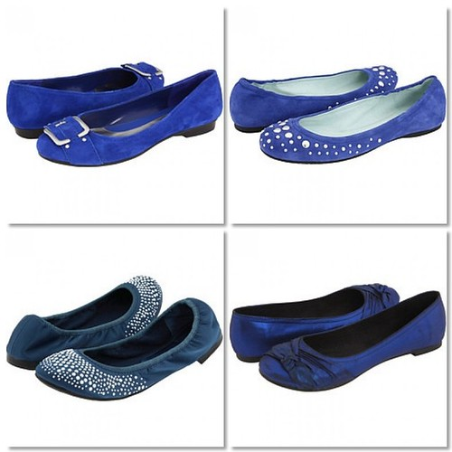 Blue Shoe Mosaic