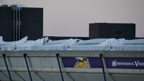 Metrodome Roof Collapse - Mill City Times Exclusive Photos