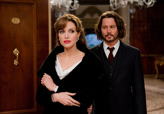 Angelina Jolie and Johnny Depp add direction to 'The Tourist'.