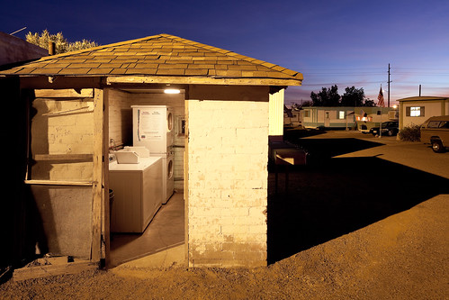 Trailer Park Laundry Room