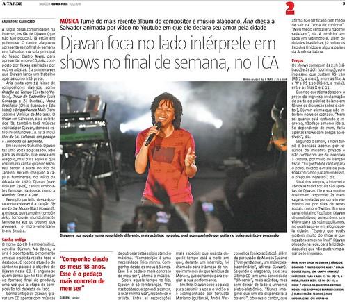 Jornal A Tarde, Bahia
