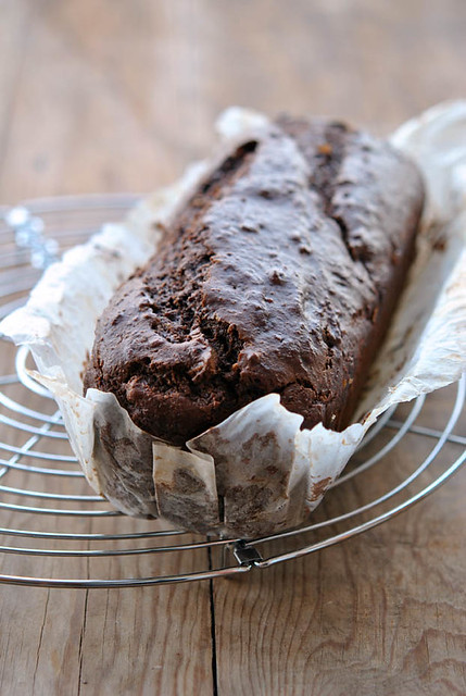 1.Cake al cioccolato con prugne, fichi e rum