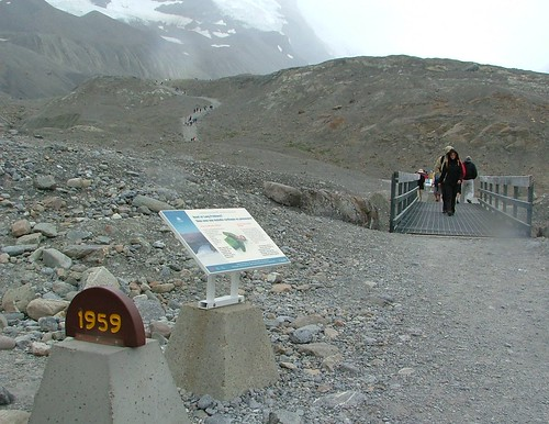 Athabasca Glacier 1959