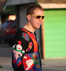 Ugly Sweater (San Diego Shooter) Tags: portrait sandiego streetphotography pacificbeach sandiegopeople sandiegostreetphotography