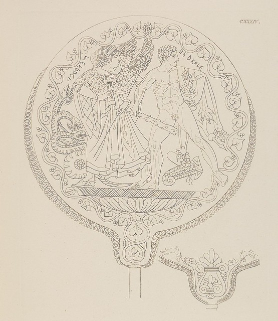 Etruskische Spiegel by Eduard Gerhard, 1840s b