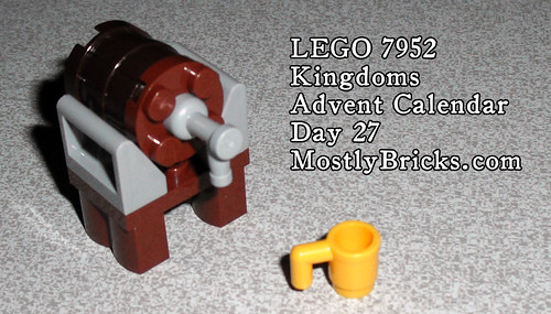 LEGO 7952 Kingdoms Advent Calendar Day 17