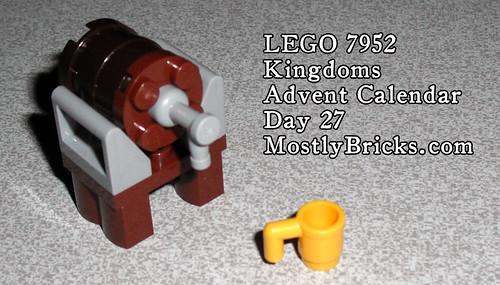 LEGO 7952 Kingdoms Advent Calendar Day 17