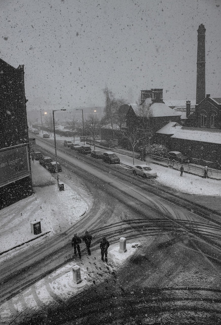 A Snowy Belfast Morning