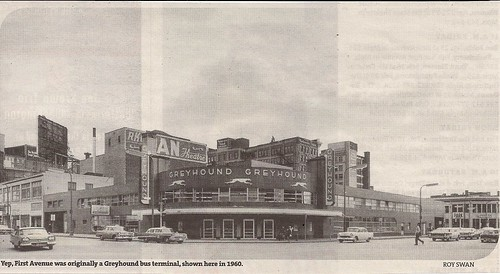 Greyhound Bus Depot, Mpls, MN (1960)