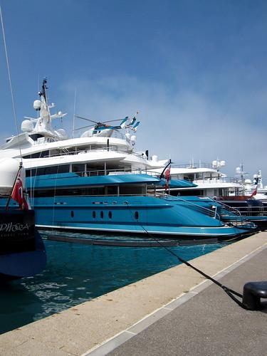 Yacht row