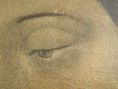 Virgen de Guadalupe (detalle del ojo derecho) (una imagen viva) (LALO VAZQUEZ) Tags: de guadalupe virgen
