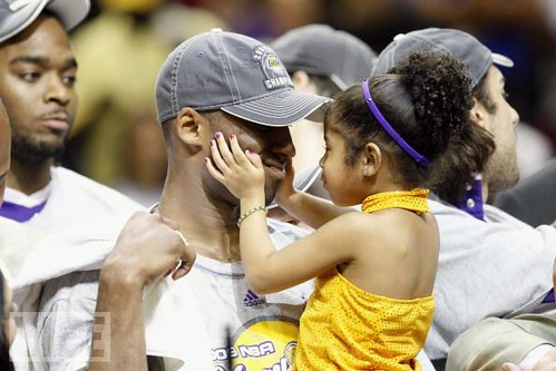 Kobe daughter