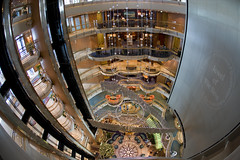 Jewel of the Seas (blueheronco) Tags: cruise ship interior centrum jeweloftheseas royalcaribbeancruises