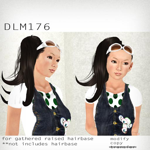 booN DLM176 hair