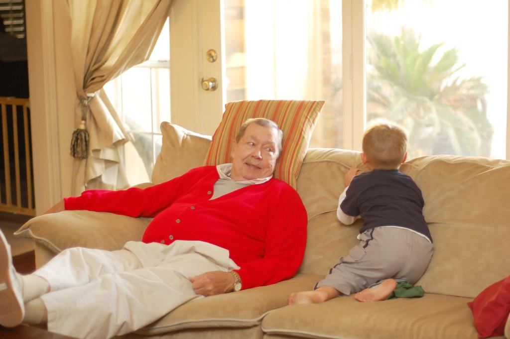 Dad, Jayden 2010