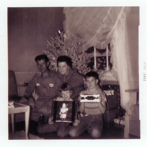 Talbott Family Christmas 1958