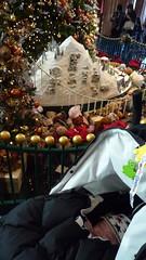 ウェスティンホテルのクリスマスツリーととらちゃん